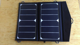 GREAT XMAS PRESENT! Lightweight Solar Bag to CHARGE your PHONE on days out/caravans/motorhomes