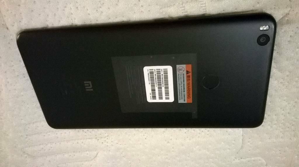 "Xiaomi Mi MAX 2 Black 6.4"" 64GB, 4GB RAM, 4G Unlocked, FREE BLACK CASE"