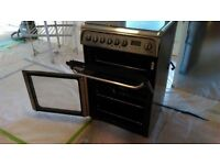 Hotpoint Ultima Dual Fuel Double Oven Cooker