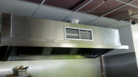 Commercial kitchen canopy 8ft