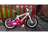 """Girls 16"""" Hello Kitty Bike"""