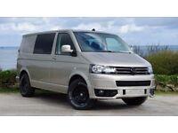 vw t5 campervan automatic volkswagon transporter rib seat and evo kitchen