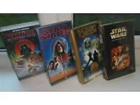 Star Wars VHS Videos x 4