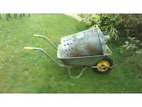 Wheelbarrow and incinerator