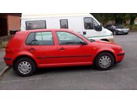 VW GOLF for Spares and Repairs.