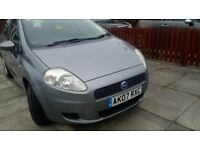 only43000 miles well looked after fiat grande punto low insurance ideal first car lovely condition