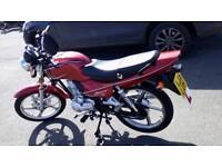 15 plate lifan mirage 125cc bike