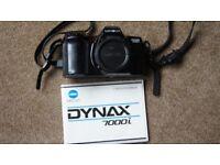 Minolta Dynax 7000i Camera Body