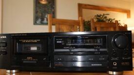 AIWA Stereo Cassette Deck AD-F410K