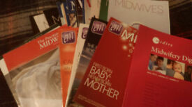 Midwifery journals, more than 60