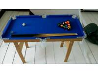 Kids pool table in good condition