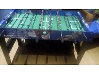 Football table for sale - less than a year old