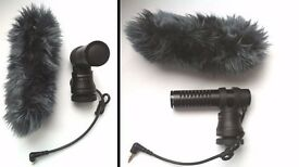 Panasonic VW-VMS10 Stereo Microphone for camcorder & its Deadcat