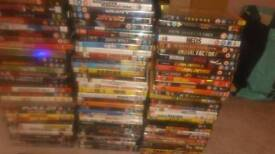 Lots of dvds for collector or just likes a film a have a 114 in total