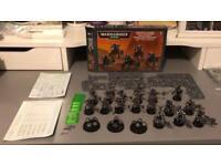 NECRONS WARHAMMER 40K GAMES WORKSHOP 21 FIGURES