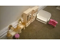 Dolls furniture (Excellent condition)