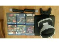 PS4 VR PLUS PS4 WITH GAMES