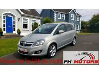 Immaculate 2010 Vauxhall Zafira Sri - only 54k miles! 7 seater + finance available