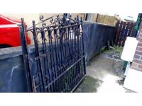 Iron driveway gate £70