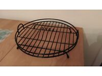 Round dish drying rack, excellent condition £5