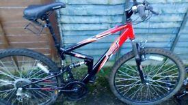 """Apollo fx26 bike 17"""" frame"""
