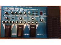 Boss Me-50 Guitar Effects Processor
