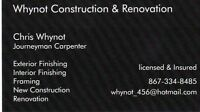 Construction and renovation season is just around the corner