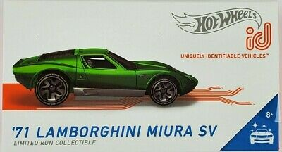 Hot Wheels ID 71 Lamborghini Miura Limited Edition 1/64 Series 2
