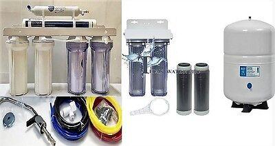 RO Aquarium/Drinking Water-Pentair Gro-EN35 Membrane, 6 Stage Dual DI - 6G Tank