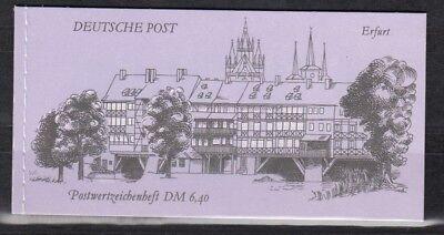 DDR, 1990 Markenheftchen 10 **, (25484)