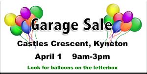 Garage Sale Kyneton Macedon Ranges Preview