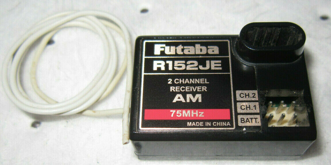 MODEL FP-R4H USED AM FUTABA RECEIVER 72 MHZ G CONNECTOR