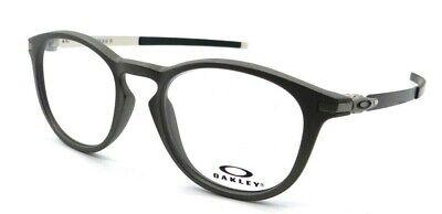 Oakley Rx Eyeglasses Frames OX8105-1350 50-19-140 Pitchman R Satin Lead