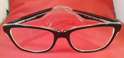 Cosmopolitan C200 Women's Eyeglass Frames Black/Clear (Cosmopolitan Frames)