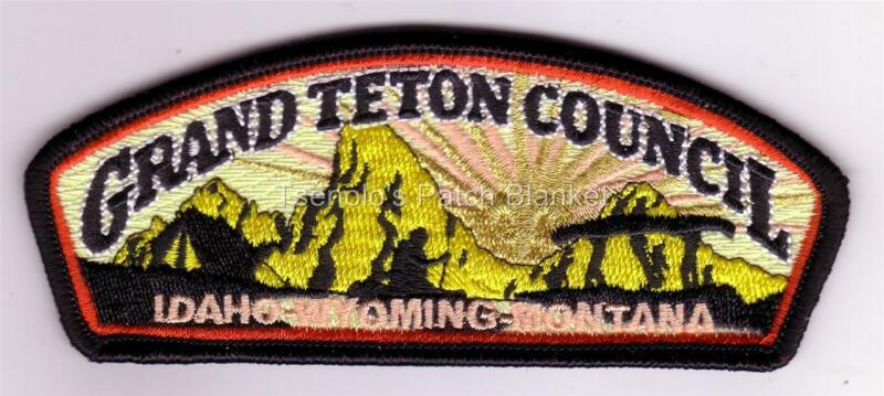 Grand Teton Council 2011 S-318a General Issue Csp Mint Condition FREE SHIPPING