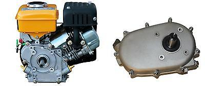 Benzinmotor 4-Takt 9 PS Kartmotor  Motor  inkl. Reduktionsgetriebe 2:1 270 ccm