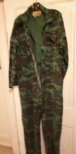 camouflage coveralls