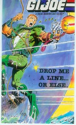 G.I.Joe Postcard: Drop me a Little... Or Else (USA, 1988) gebraucht kaufen  Deutschland