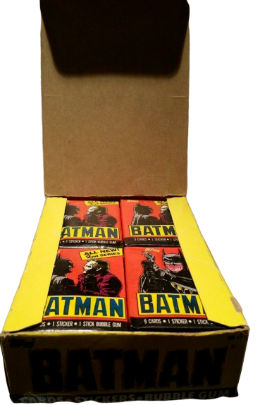 BATMAN MOVIE TRADING CARDS BOX OF 36 Sealed Packs Topps - $25.00