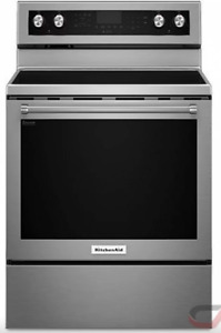 Electric Freestanding Kitchen Aid Oven for sale