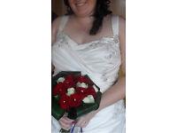 Wedding dress size 18-20ish