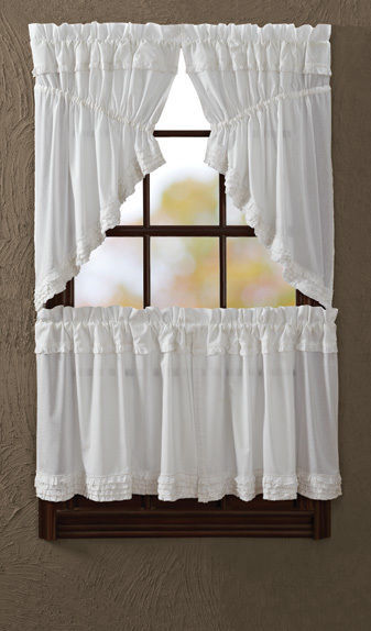 How To Care For Ruffled Country Curtains Ebay