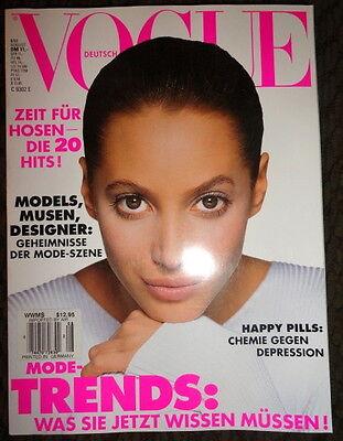Vogue Deutsch 1993 Helena Christensen Linda Evangelista Gianni Versace Kate Moss