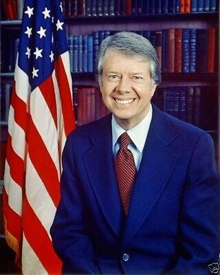 Portrait of 39th US President Jimmy Carter - New 8x10 Photo