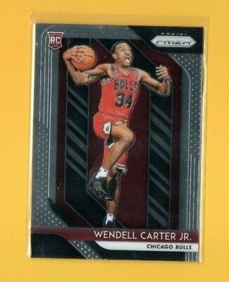 D17194  2018-19 Panini Prizm #80 Wendell Carter Jr. ROOKIE