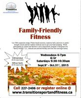 Family Friendly Fitness this Fall