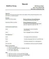 Third year university student looking for summer employment