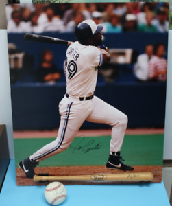 Joe Carter TORONTO Blue Jays Signed Ball and Poster