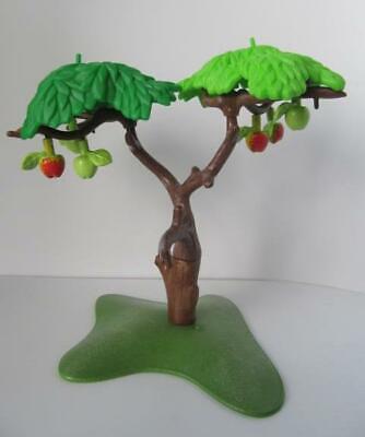 Playmobil tree with apples NEW Farm/dollshouse/forest scenery