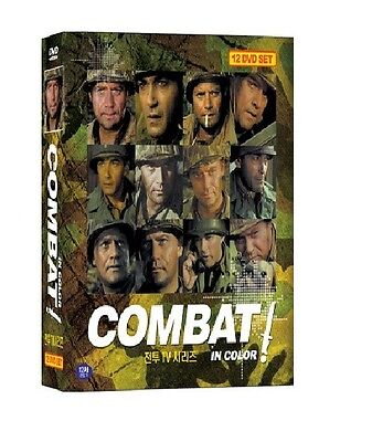 Combat - TV Series in Color (1966 - 12DVD box set / New, All)